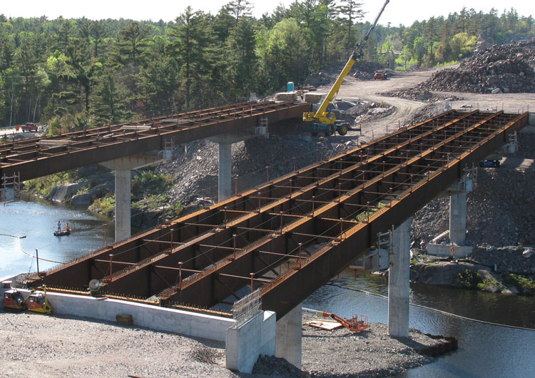 Bridge Being Built